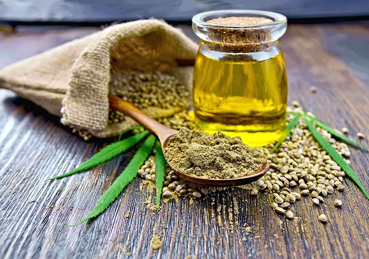 Cold Pressed Hemp Seed Oil