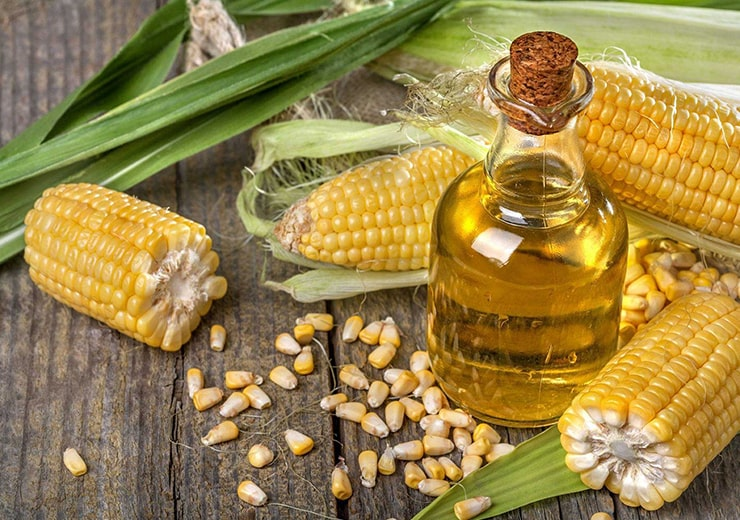 cold pressed corn germ oil