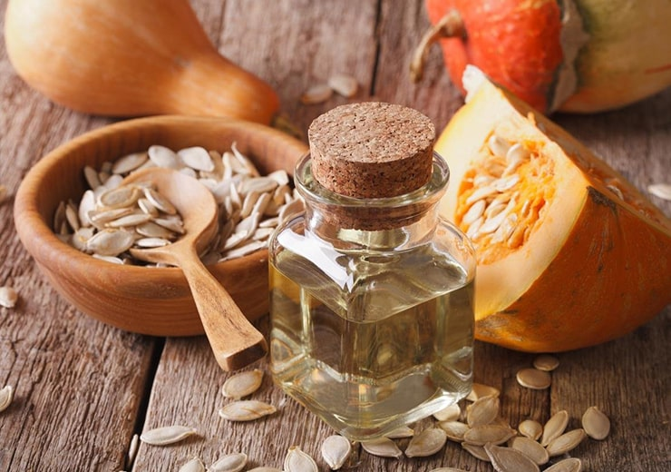 cold pressed pumpkin seed oil