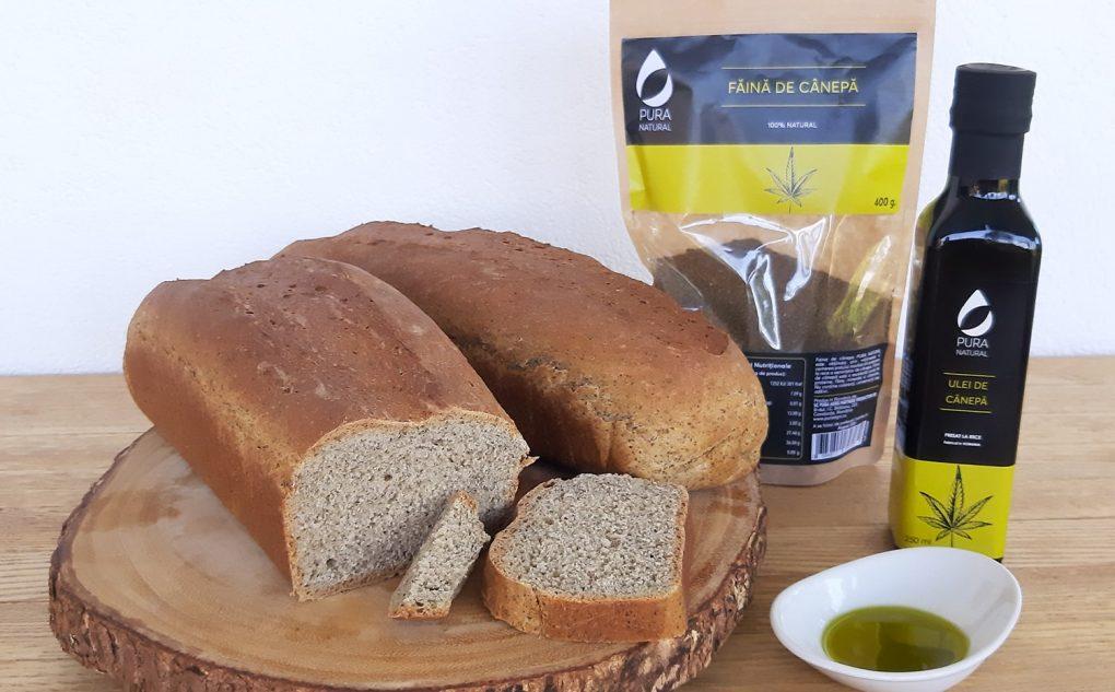 Rețetă de pâine cu făină de cânepă