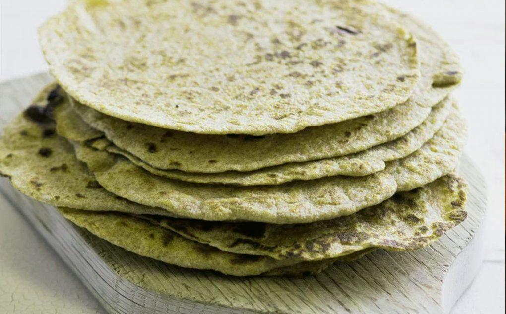 Tortilla din făină de cânepă